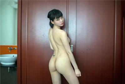 中国美女モデル 沙子(Shazi) セクシーヌード画像 2