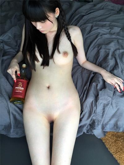 中国美女モデル 沙子(Shazi) セクシーヌード画像 8