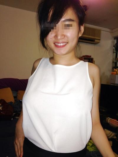 巨乳なシンガポール美少女の流出ヌード&ハメ撮り画像 4