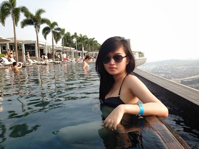 巨乳なシンガポール美少女の流出ヌード&ハメ撮り画像 27