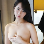 中国美少女モデル 徐小宝Jessie(Xu Xiaobao) 手ブラセミヌード画像