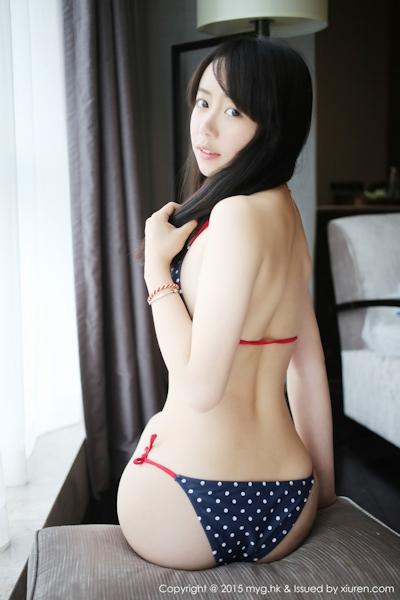 中国美少女モデル 徐小宝Jessie(Xu Xiaobao) 手ブラセミヌード画像 1