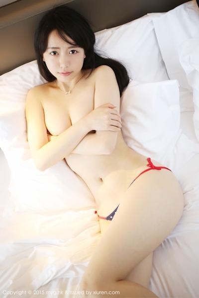 中国美少女モデル 徐小宝Jessie(Xu Xiaobao) 手ブラセミヌード画像 7