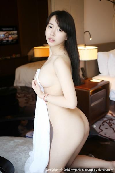 中国美少女モデル 徐小宝Jessie(Xu Xiaobao) 手ブラセミヌード画像 11