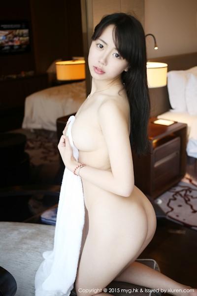 中国美少女モデル 徐小宝Jessie(Xu Xiaobao) 手ブラセミヌード画像 12