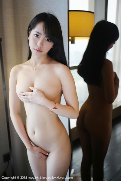 中国美少女モデル 徐小宝Jessie(Xu Xiaobao) 手ブラセミヌード画像 19