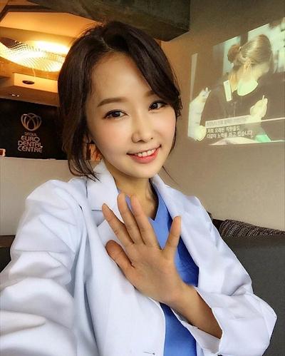 韓国の48歳美人歯科医 Lee Su Jin 2