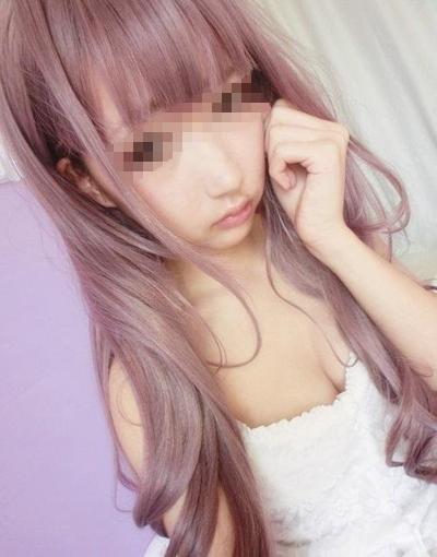 アジア系美乳美少女 自分撮りヌード画像 1