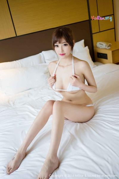 中国美女モデル sugar小甜心CC ビキニ画像 10