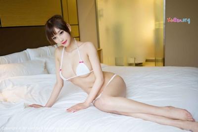 中国美女モデル sugar小甜心CC ビキニ画像 14