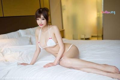 中国美女モデル sugar小甜心CC ビキニ画像 15