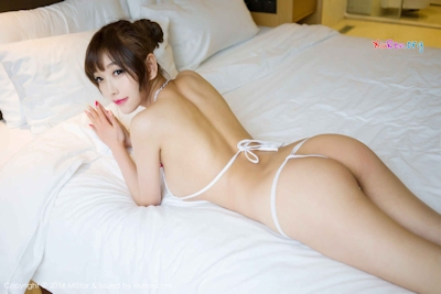 中国美女モデル sugar小甜心CC ビキニ画像 17