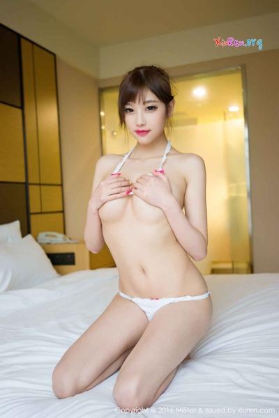 中国美女モデル sugar小甜心CC ビキニ画像 22