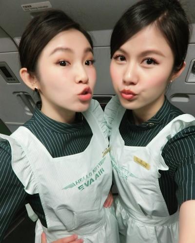 長榮航空(エバー航空)の美人CA 潘蜜拉(Pamela Fang) 3