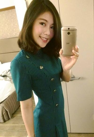 長榮航空(エバー航空)の美人CA 潘蜜拉(Pamela Fang) 6