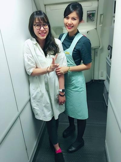 長榮航空(エバー航空)の美人CA 潘蜜拉(Pamela Fang) 8