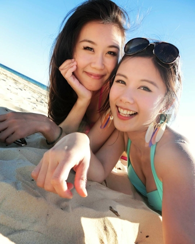 長榮航空(エバー航空)の美人CA 潘蜜拉(Pamela Fang) 24