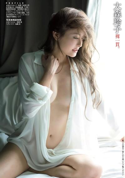 大森玲子 セクシーグラビア画像 7