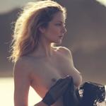 ハンガリー出身のスーパーモデル Eniko Mihalik(エニコ・ミハリク)が Lui Magazine で ヌードを披露