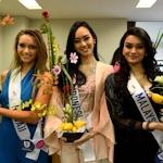 ミス・インターナショナル各国代表が東京で「いけばな」体験