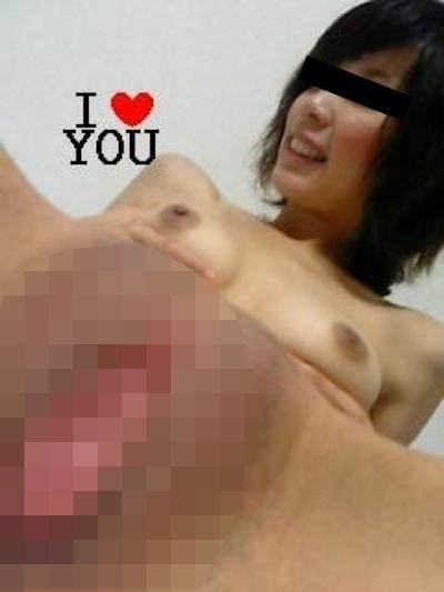 美乳&パイパンな素人美女の流出ヌード画像 6