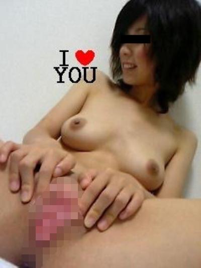 美乳&パイパンな素人美女の流出ヌード画像 7