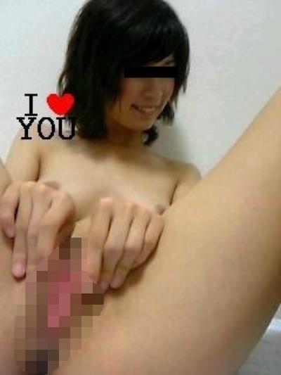 美乳&パイパンな素人美女の流出ヌード画像 10