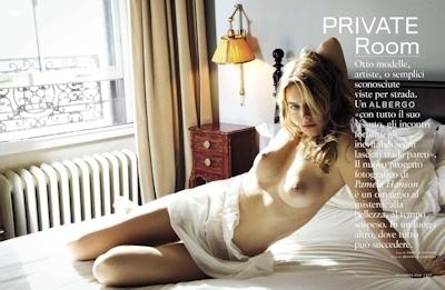 フランスモデル Camille Rowe(カミラ・ロウ) ヌードグラビア画像 6