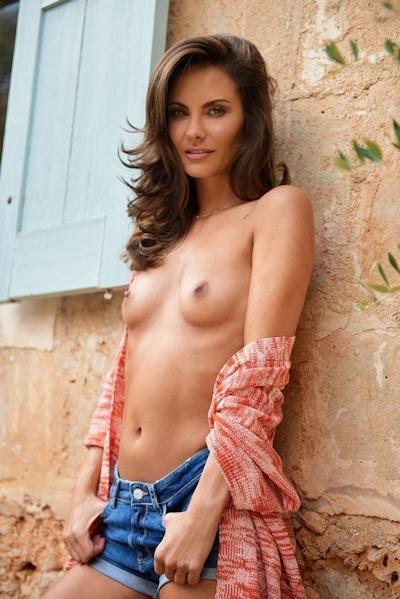 ドイツモデル Simone Voss(シモーネ・ボス) Playboyのヌード画像 11