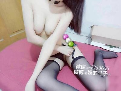 中国の美乳美少女 妈的马子m 自分撮りヌード画像 8
