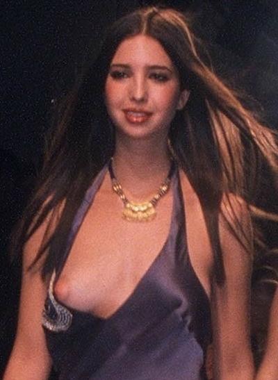 ドナルド・トランプの娘 Ivanka Trump(イヴァンカ・トランプ)の乳首ポロリ画像 2
