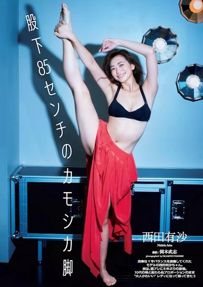 西田有沙 セクシービキニ画像 1