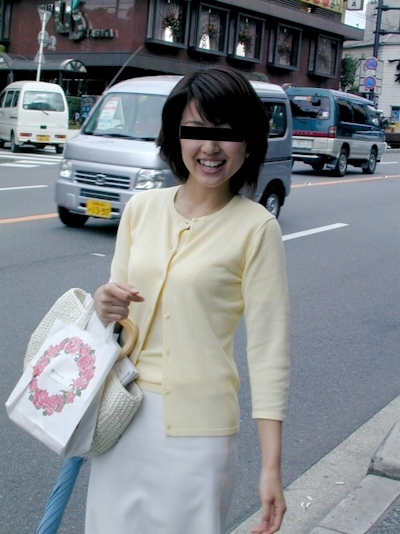清楚系な日本の素人美女の流出ヌード画像 1