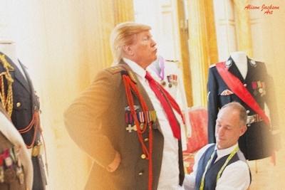トランプが大統領になったらこんな感じにセクハラ三昧?という画像 2