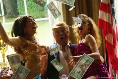 トランプが大統領になったらこんな感じにセクハラ三昧?という画像 6