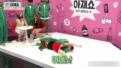 韓国で深夜に放送してるお色気番組のセクシー画像 1