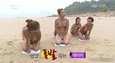 韓国で深夜に放送してるお色気番組のセクシー画像 7