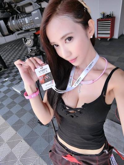台湾No.1美人レースドライバー 安小蕎(Angel-Ann) 1