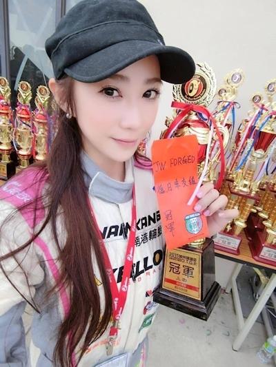 台湾No.1美人レースドライバー 安小蕎(Angel-Ann) 9