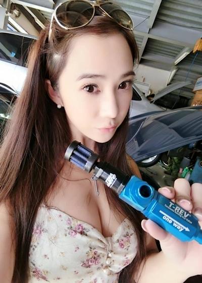 台湾No.1美人レースドライバー 安小蕎(Angel-Ann) 22