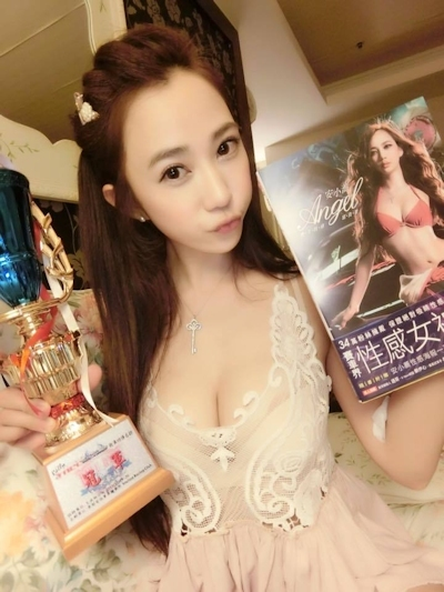 台湾No.1美人レースドライバー 安小蕎(Angel-Ann) 34