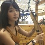 中国の超美人アーチェリー選手 子望