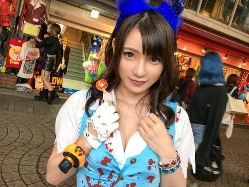ハロウィンナンパ 05 in 原宿 はるか 21歳 地下アイドル    1