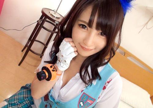 ハロウィンナンパ 05 in 原宿 はるか 21歳 地下アイドル    4
