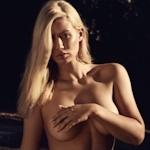 Iggy Azalea(イギー・アゼリア) 濡れT乳首ポッチ&手ブラセミヌード画像を披露