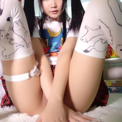 中国の美少女コスプレイヤー Kizami大魔王 自分撮りセクシー画像 22