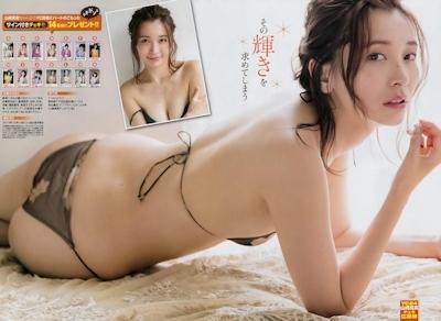 山崎真実 セクシーセミヌード画像 7
