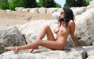 インド素人美女のヌード画像 27