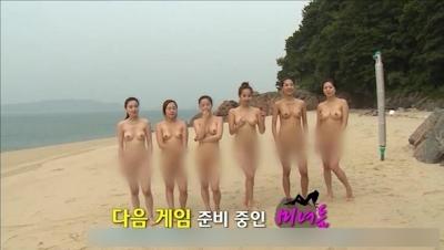 韓国のヌードリアリティ番組の画像 16