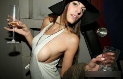 西洋美女の横チチ画像 7